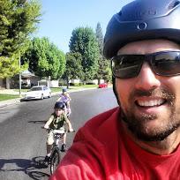 Monday Morning Bike Ride Selfie